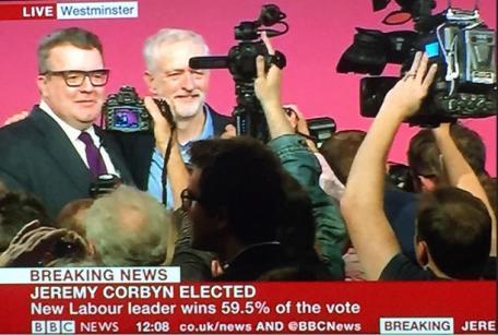 Corbyn elected