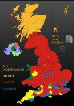 election results spoof map